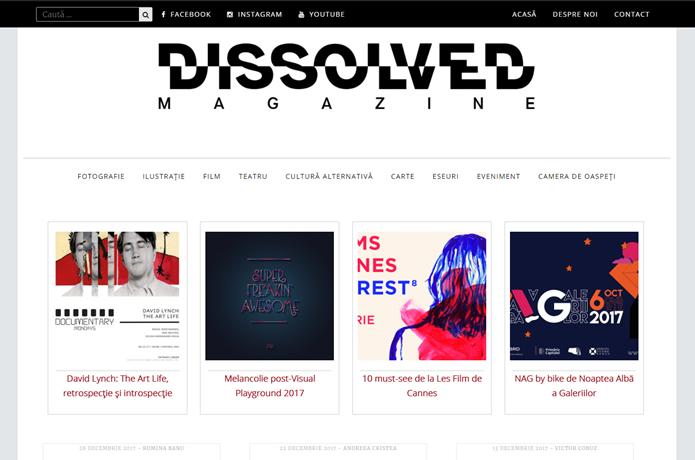 Dissolved Magazine